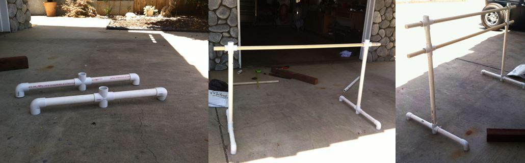 DIY Barre-ballerinas can build too