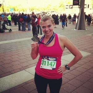 Renee - First half marathon