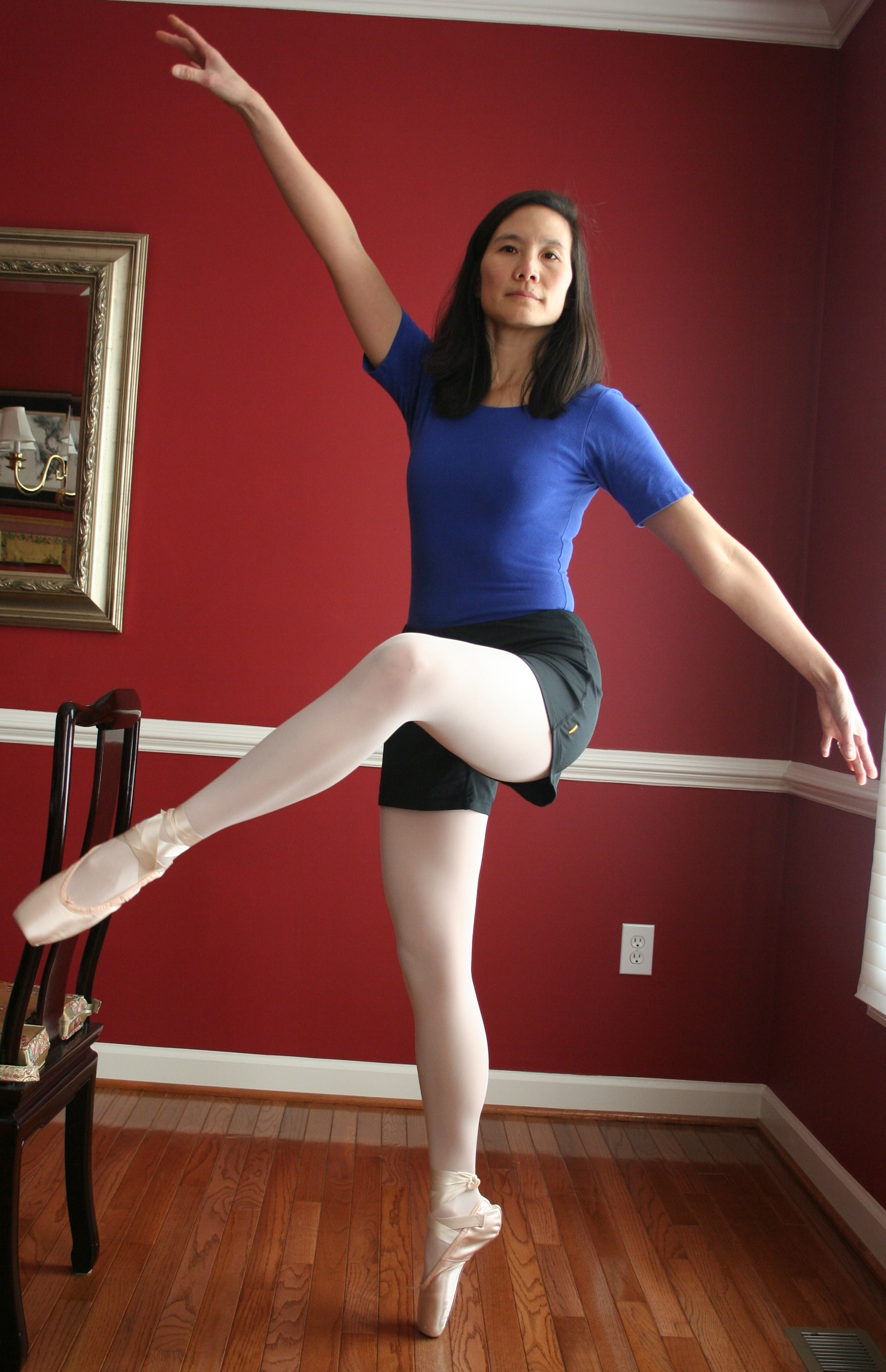 Beginning ballerina for adults
