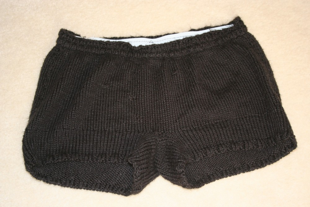 Projects For Knitters Or Knitters To Be Ballet Shorts