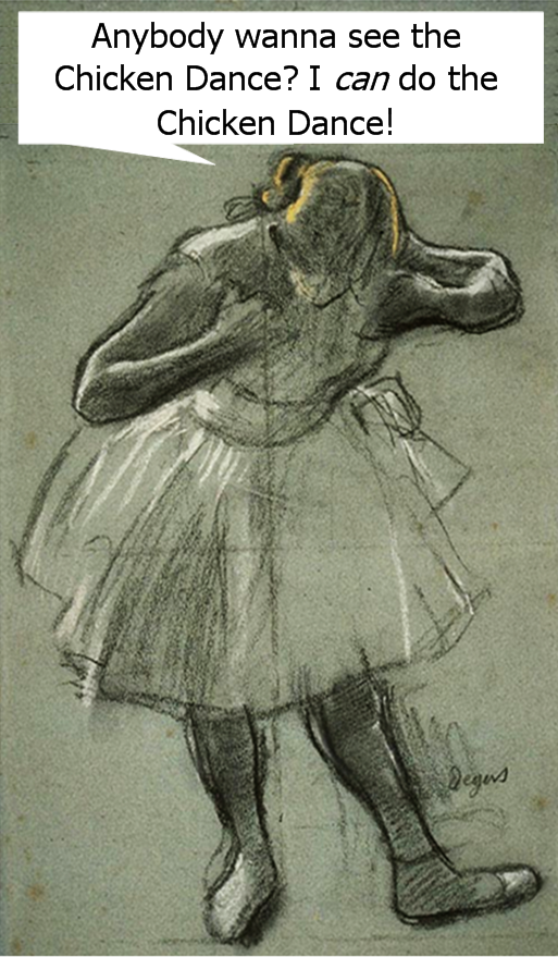 Degas Chicken Dance